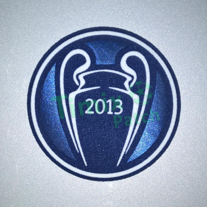 Uefa Champions League Winners Soccer Patch 2013 Bayern Munich Badges Iron On Sticker