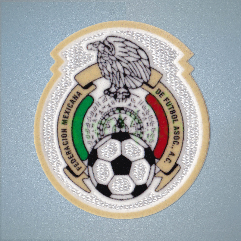 09d9c8c24b3 Mexico football Federation Soccer PATCH jersey Mexican FIFA Jersey ...