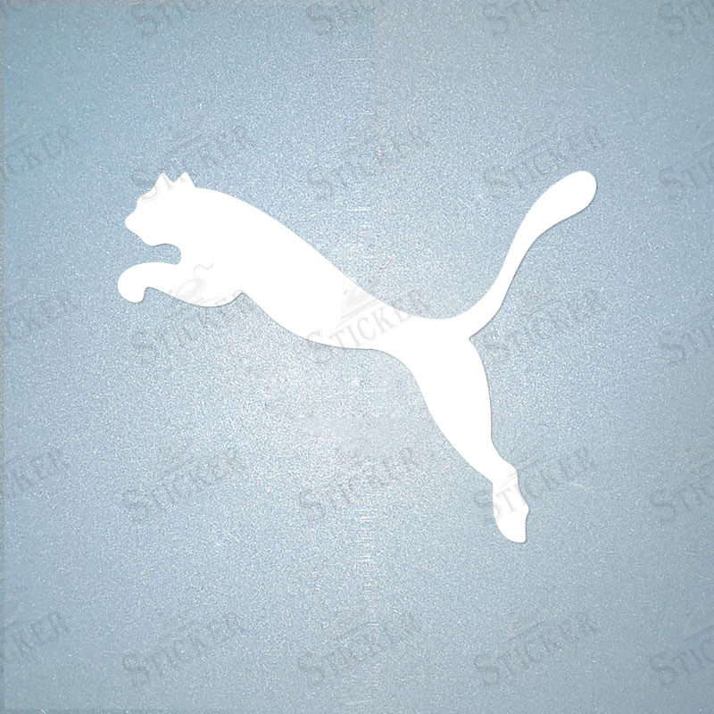 Puma Iron-On Sticker Sports LOGO DIY T-Shirt Clothing PU Transfer ...