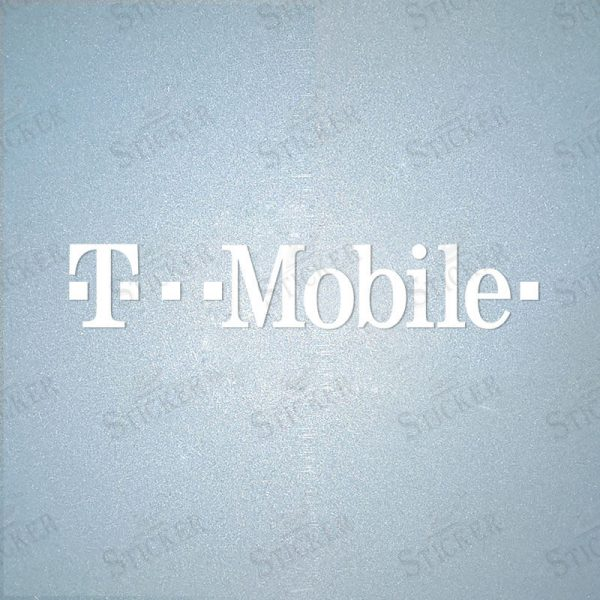 Bayern Munich T-Mobile Sponsor Logo Sticker
